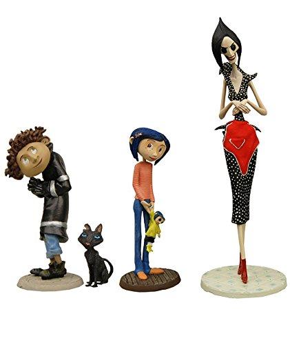 コララインとボタンの魔女 3D コラライン ベスト・オブ・セット 3インチ PVC