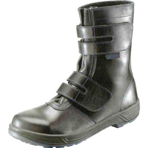 安全靴 トリセオ 黒 8538