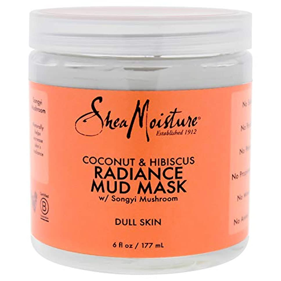 メイトくさび添加剤Coconut & Hibiscus Radiance Mud Mask - Dull Skin