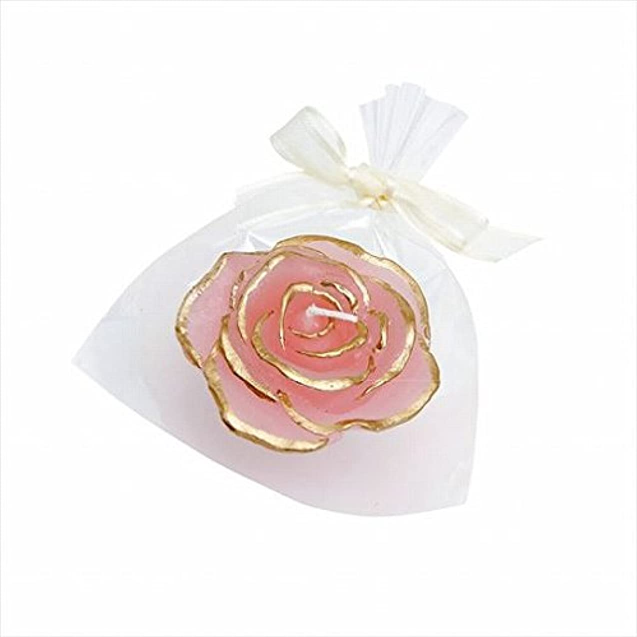 潜水艦緩むくしゃくしゃカメヤマキャンドル(kameyama candle) プリンセスローズ 「 ピンク 」