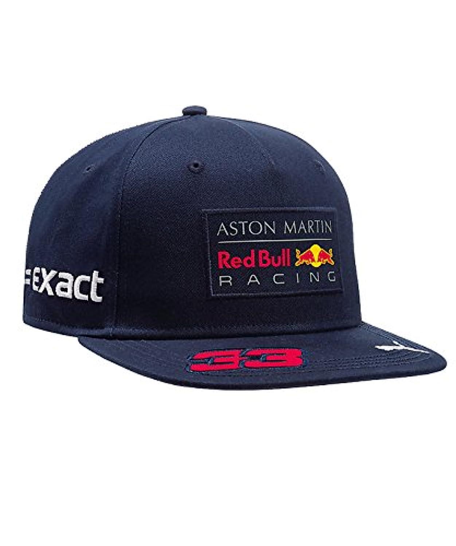【 Red Bull】 レッドブル アストンマーチン F1 Racing Team オフィシャルドライバーCAP マックス?フェルスタッペン 2018