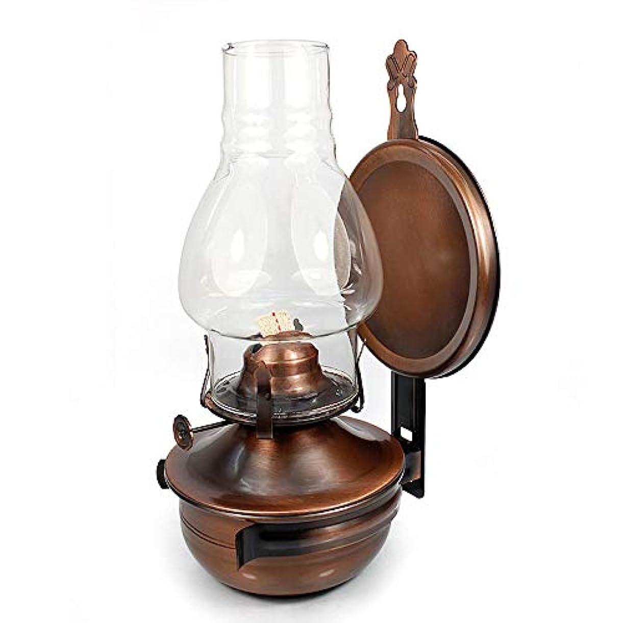 韻登録するプールクラシック灯油ランプ調節可能な灯心灯停電非常灯カスタムオイルライトノスタルジアパラフィンランプ創造性ランタン壁掛け灯油バーナー