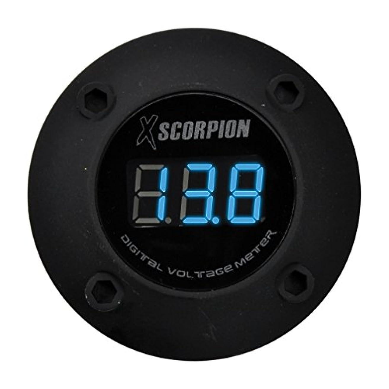 傾向がありますスチール鎮痛剤Xscorpion DVM3RB Voltmeter Digital 3 Digit LED Display, Black
