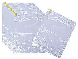 【Amazon.co.jp限定】 衣類圧縮袋 Mサイズ 10枚組 (Bon Voyage)日本製