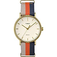 Timex Weekender Watch TW2P91600 - Fabric Unisex Quartz Analogue