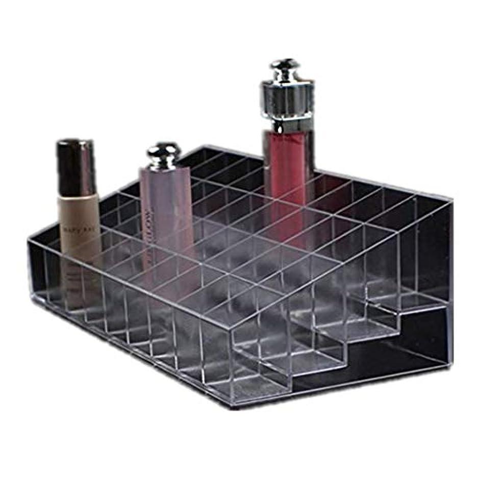 活発注釈放射性透明な多機能ホームのベッドルーム口紅ケース化粧品メイクアップツールオーガナイザーホルダープラスチックボックススタンド