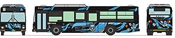 ザ・バスコレクション バスコレ 東急バス × 川崎フロンターレ ラッピングバス ジオラマ用品 (メーカー初回受注限定生産)
