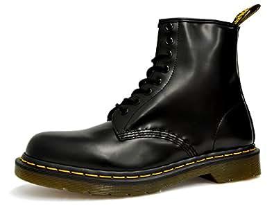 [ドクターマーチン]Dr.Martens 8アイ ブーツ オリジナル 1460 ブラック スムース 8ホール #11822006[並行輸入品] 25.0(UK6/US7)