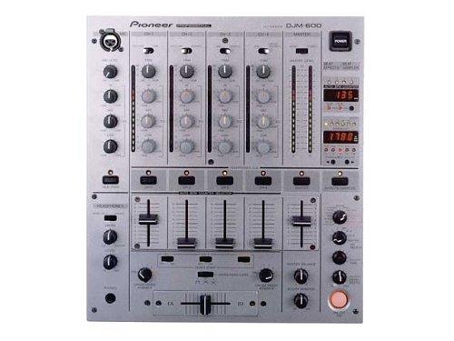 Pioneer ザ・プロフェッショナル・ディージェーミキサー DJM-600 DJミキサー (ダークシルバー)