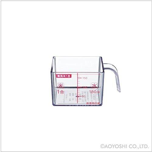 下村工業 味わい食房 角型米カップ 1合 AKC-652