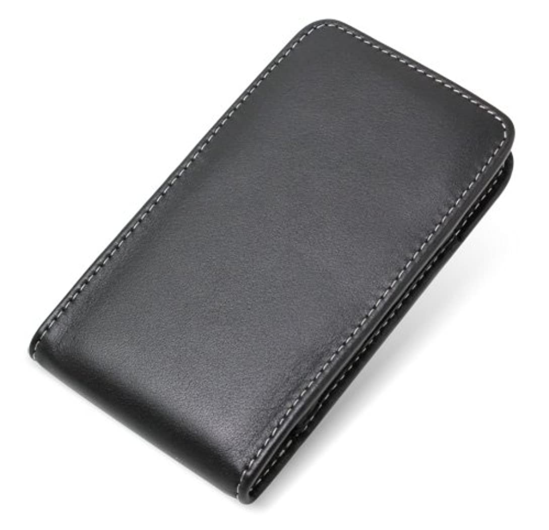 ブリーク潮ホースミヤビックス PDAIR レザーケース for MOTOROLA RAZR IS12M ベルトクリップ付バーティカルポーチタイプ(ブラック) PALCIS12MBV/BL