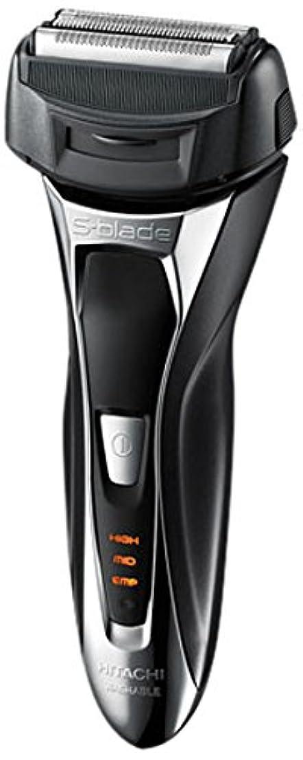 日立 メンズシェーバー(メタリックブラック)HITACHI S-Blade sonic (エスブレードソニック) RM-FL20WD-B