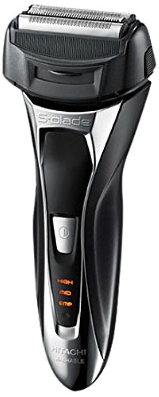 ライン差し控える順応性日立 メンズシェーバー(メタリックブラック)HITACHI S-Blade sonic (エスブレードソニック) RM-FL20WD-B