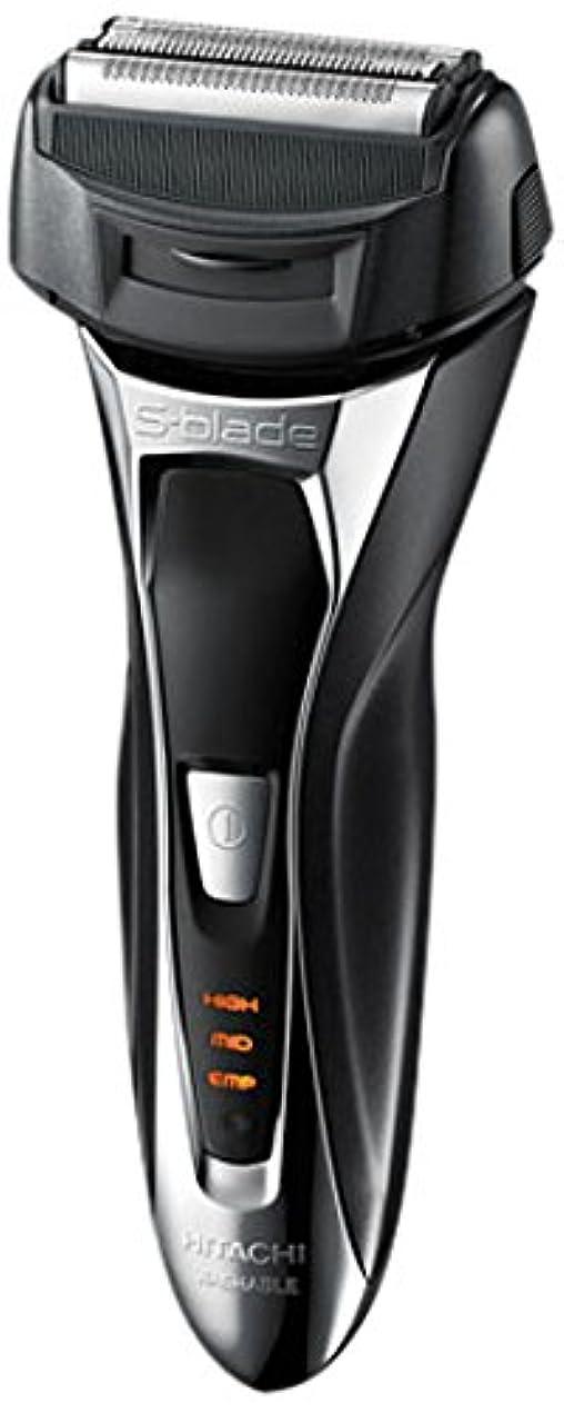 休日にバルセロナ明日日立 電気シェーバー (メタリックブラック)HITACHI S-BLADE sonic (エス?ブレード ソニック) RM-FL20WD-B