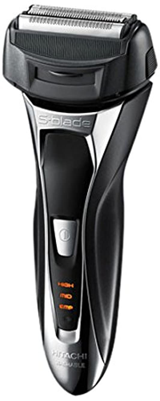 番号集計生物学日立 メンズシェーバー(メタリックブラック)HITACHI S-Blade sonic (エスブレードソニック) RM-FL20WD-B
