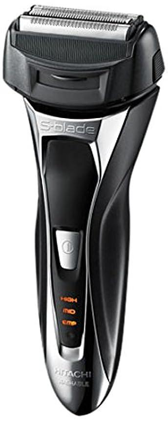 エイズ学部うがい薬日立 メンズシェーバー(メタリックブラック)HITACHI S-Blade sonic (エスブレードソニック) RM-FL20WD-B