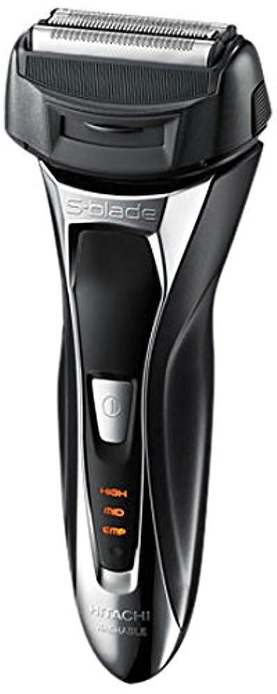 ラショナル派手公平日立 メンズシェーバー(メタリックブラック)HITACHI S-Blade sonic (エスブレードソニック) RM-FL20WD-B