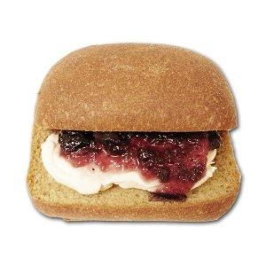 【ビッケベーグル】糖質制限プレミアムサンド(クリームチーズ×ブルーベリージャム)