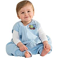 HALO SleepSack Early Walker micro polaire (BLUE TRAIN LARGE)