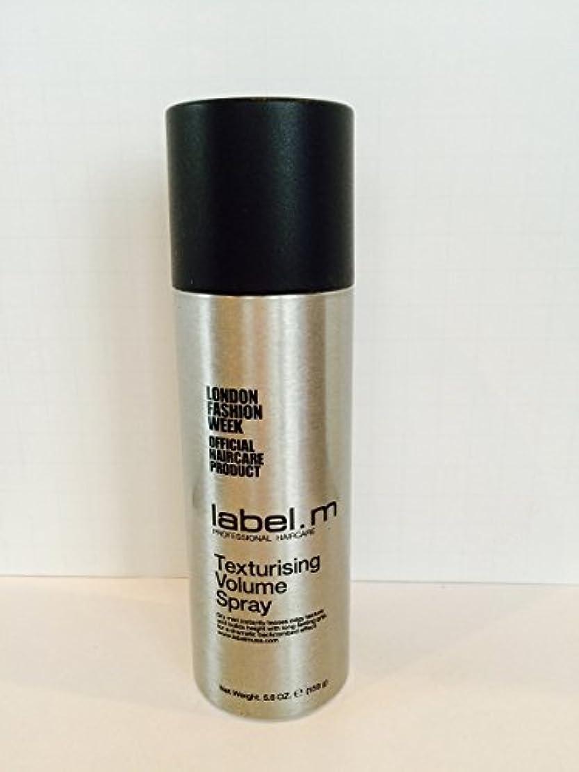 靄葉っぱ勇敢なLabel.M Professional Haircare Label.Mテクスチャーボリュームスプレー、5.6オンス