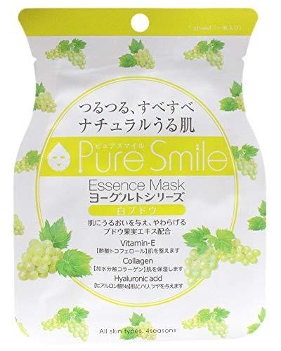 Pure Smile ピュアスマイル ヨーグルトエッセンスマスク YG004 白ブドウ 30枚セット