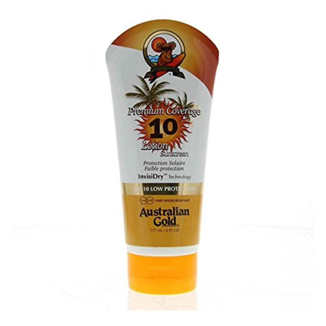 衣装ヒープ彼女のAustralian Gold Premium Coverage Lotion Spf10 177ml [並行輸入品]