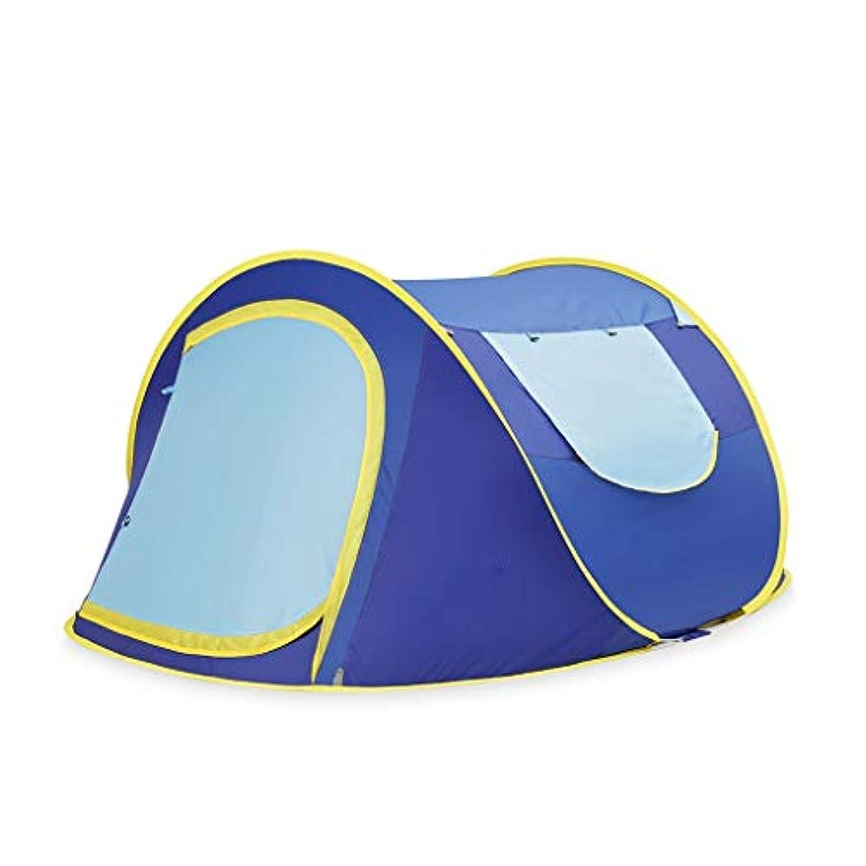 連帯悲観的嵐のテント、屋外の2人の単層の自動テントの倍増のキャンプ1の速度の開設口座.