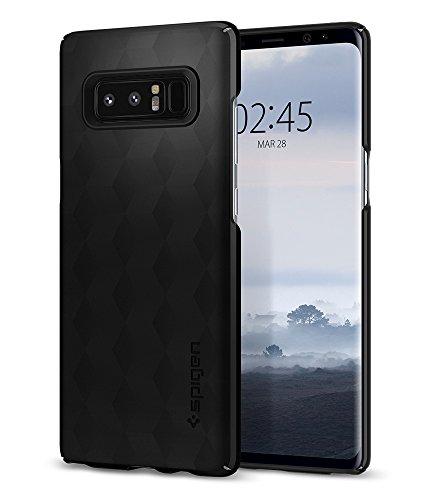 【Spigen】 Galaxy Note 8 ケース, [ Qi 充電 対応 ] [ 超スリム 軽量 ] [ レンズ保護 ] [ ハードケース ] シン・フィット ギャラクシーノート8 用 カバー (Galaxy Note 8, マット・ブラック)