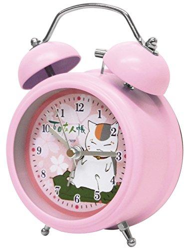 夏目友人帳 目覚まし時計 ツインベルクロック ミニ パープル RM-4911の詳細を見る