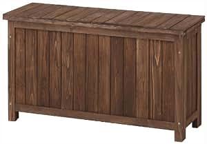 タカショー スリムストッカー ブラウン 約幅88×奥行33×高さ50.5cm