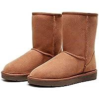 Best Gift Choice UGG Classic Short Boot- Australian Sheepskin Inner, Water Resistant, Anti-Slip, Super Warm and Comfort