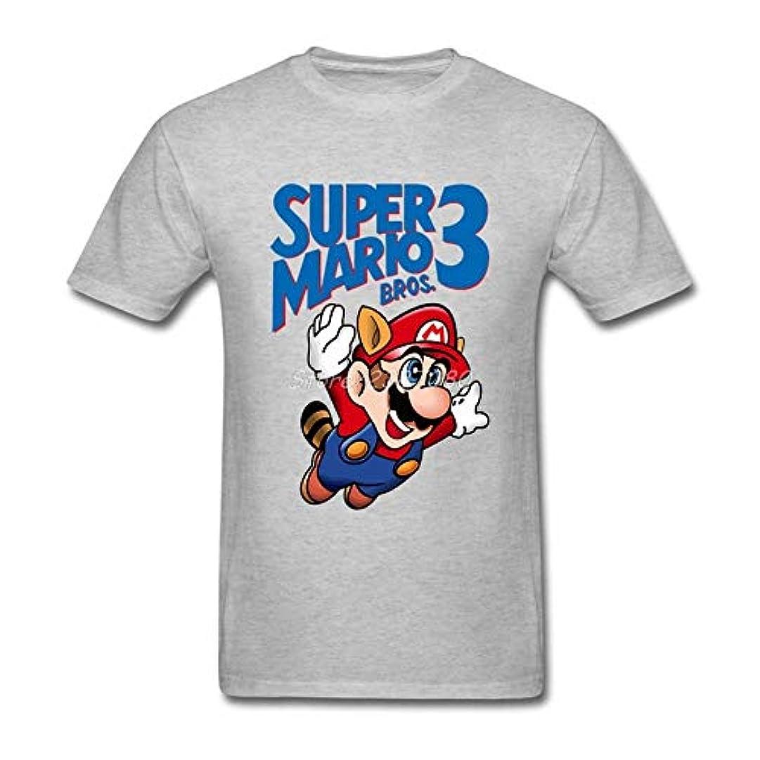 勤勉被害者歌スーパーマリオtシャツ半袖男性tシャツ新しいカップルのコットンクルーネックビッグサイズtシャツ