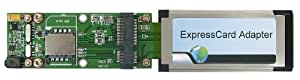 PE3B : SIMカードスロット付無線通信MiniCard用ExpressCardアダプタ ver1.2