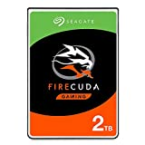 Seagate 2TB FireCuda Gaming SSHD SATA 6Gb/s Flash Accelerated (8GB) Performance Hard Drive - Frustration Free Packaging (ST2000LXZ01)