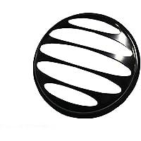 キジマ(Kijima) ヘッドライトグリル 純正ヘッドライト対応(モンキー(MONKEY)/エイプ/DAX) Mサイズ ブラック 205-0901