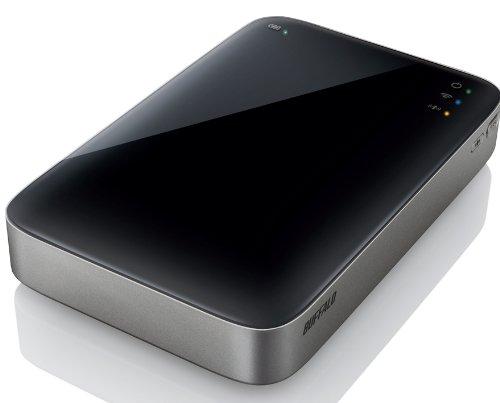 バッテリー4.5時間駆動&WiFi対応ポータブルHDD「MiniStation Air(HDW-P500U3)」