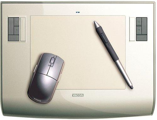 WACOM Intuos3 A5サイズ クリスタルシルバー PTZ-630/S0