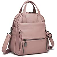 Backpack Purse, Kasqo Women Convertible Faux Leather Ladies Shoulder Bag