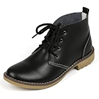Vivident Candy Color Fashion Women Lace up Genuine Leather Classic Shoe High Style Flat Casual Oxfords Shoes Boots