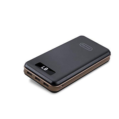 iMuto 30000mAh モバイルバッテリー 大容量 スマホ 急速充電 PSE認証済み 携帯充電器 3USB出力ポート(3.4A) iPhone Android iPad Xperia Nexus MacBook各種対応 地震/災害/旅行/出張/アウトドア活動
