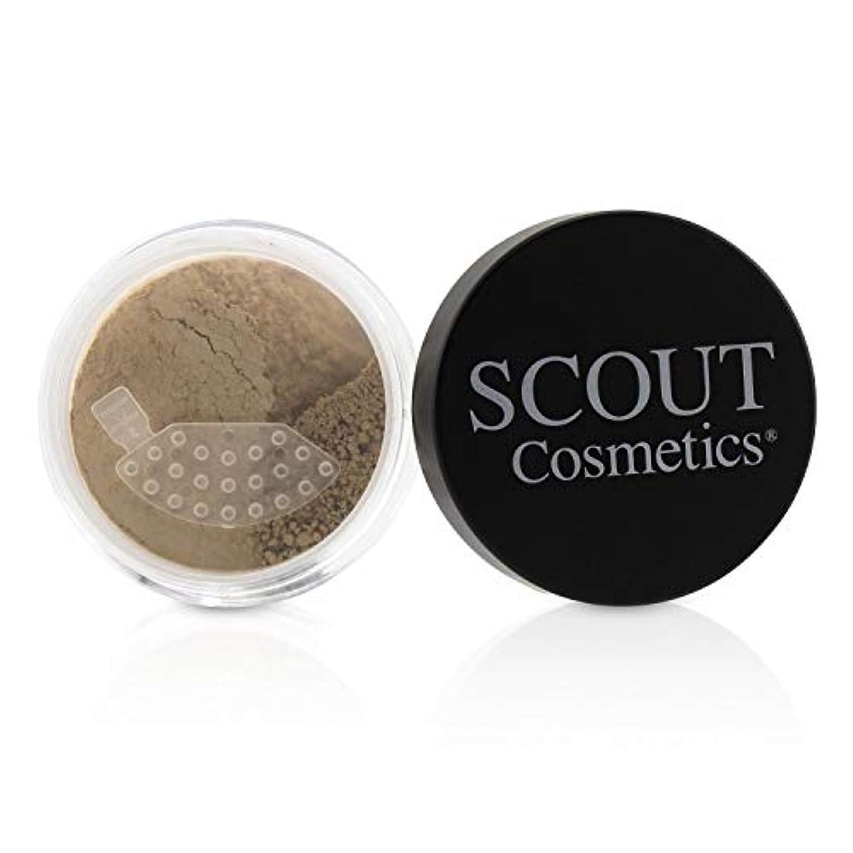 推進力細断糞SCOUT Cosmetics Mineral Powder Foundation SPF 20 - # Camel 8g/0.28oz並行輸入品