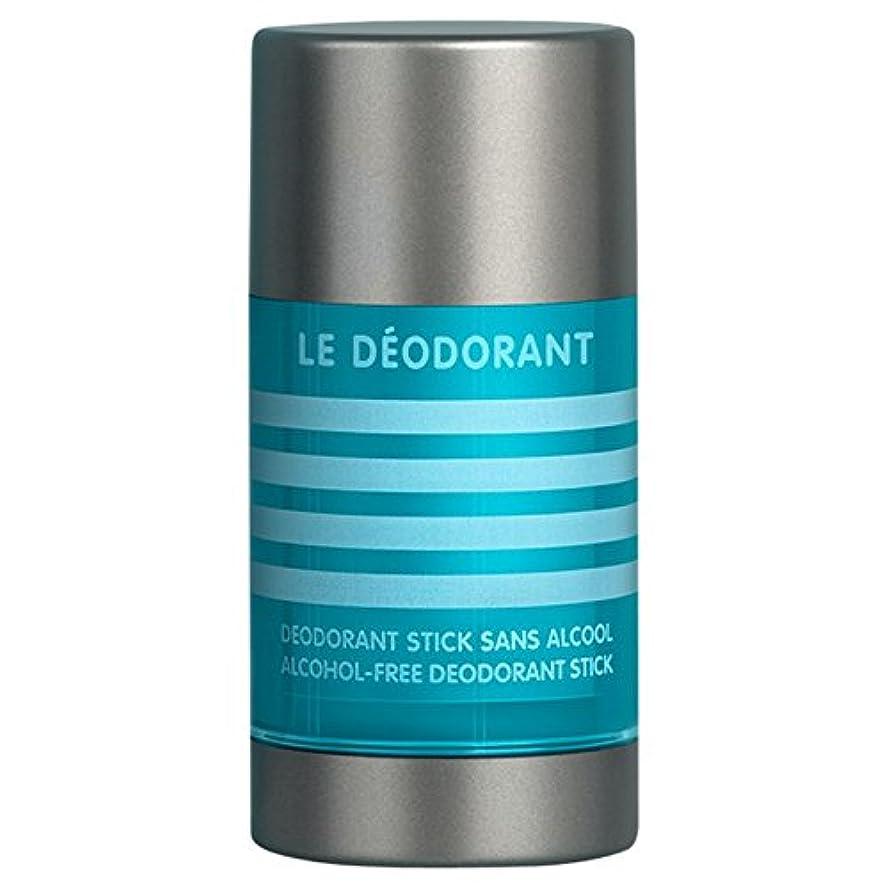 シビック瞳流行しているジャン=ポール?ゴルチエル男性アルコールフリーデオドラントスティック75グラム (Jean Paul Gaultier) (x6) - Jean Paul Gaultier Le Male Alcohol-Free Deodorant...