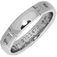 [エルメス]HERMES K18WG ヘラクレスリング(ミニ) 指輪 #46(6号) 中古
