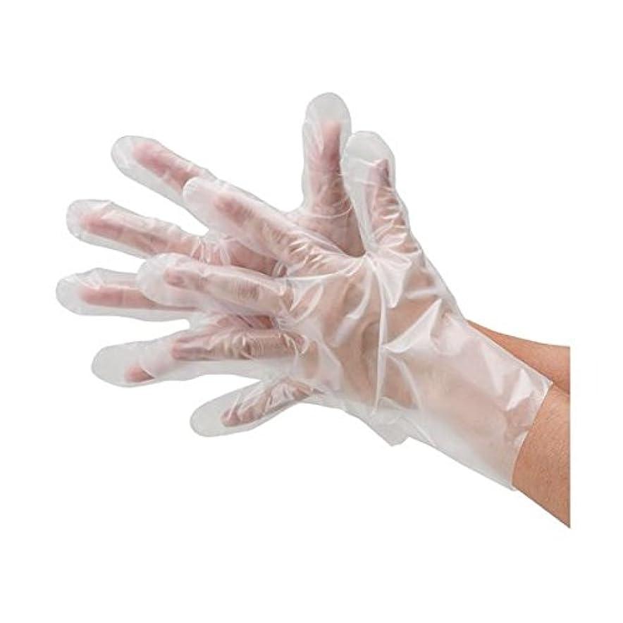 ゴム化学薬品弱まる川西工業 ポリエチレン手袋外エンボス袋エコノミーS60袋 ds-1915796