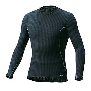 (パールイズミ) PEARL IZUMI 173 サイクル 長袖ドライアンダーシャツ [メンズ] 173 1 ブラック L 173 1 ブラック XL