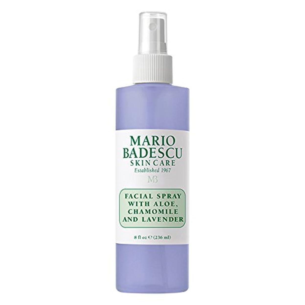 モナリザとげのあるを必要としていますマリオ バデスク Facial Spray With Aloe, Chamomile & Lavender 236ml/8oz並行輸入品