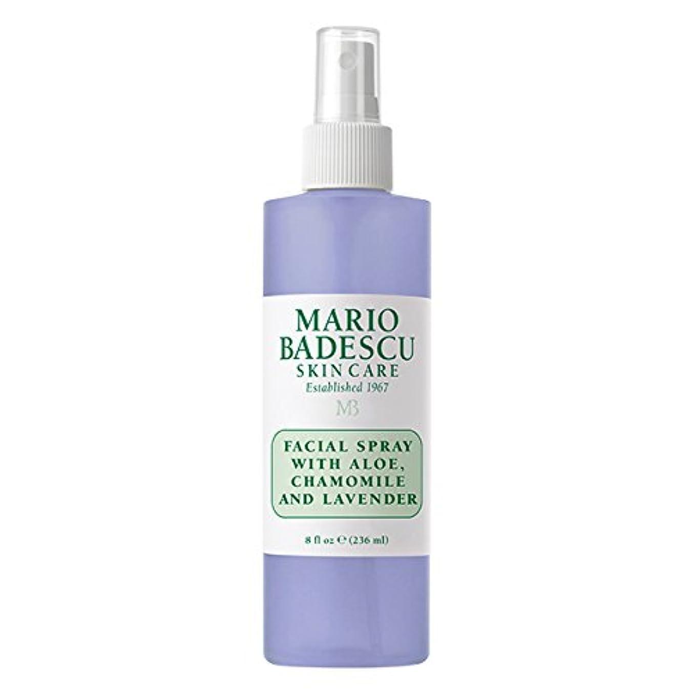 海嶺証明書と闘うマリオ バデスク Facial Spray With Aloe, Chamomile & Lavender 236ml/8oz並行輸入品