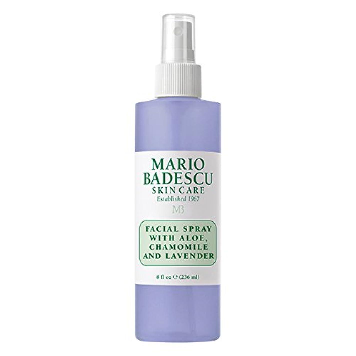 お母さんカラス有能なマリオ バデスク Facial Spray With Aloe, Chamomile & Lavender 236ml/8oz並行輸入品