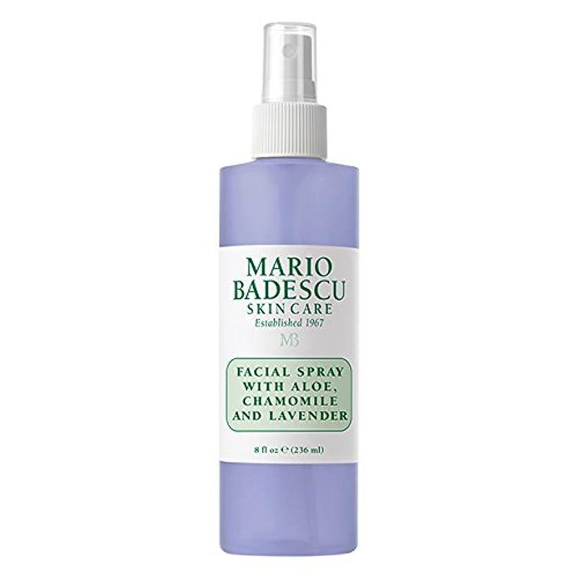 ビジターレジデンス銛マリオ バデスク Facial Spray With Aloe, Chamomile & Lavender 236ml/8oz並行輸入品