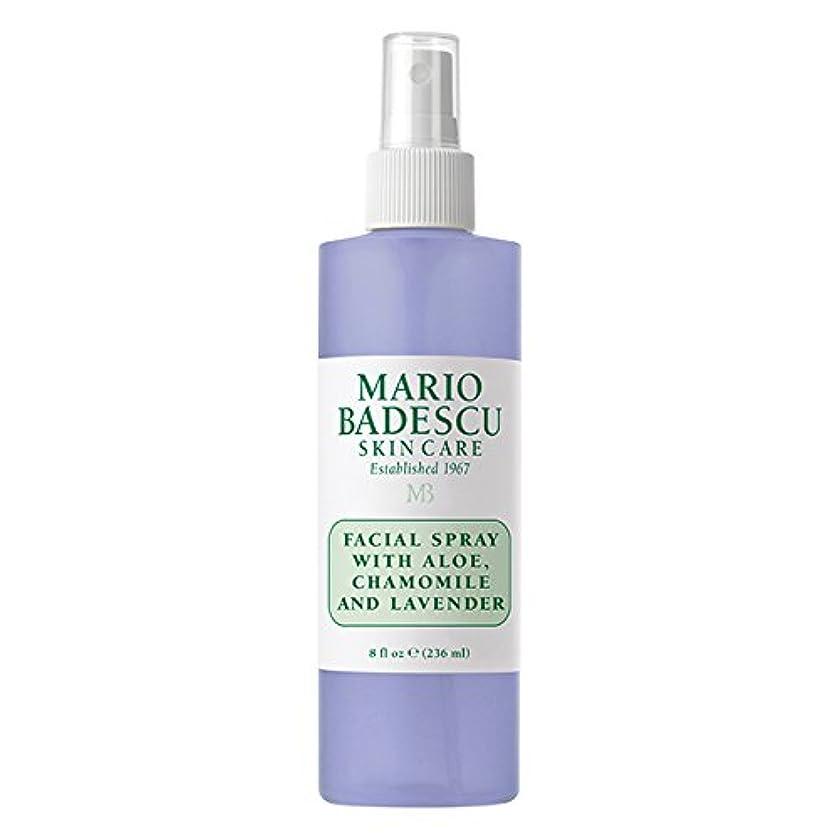 検体閉じる誘導マリオ バデスク Facial Spray With Aloe, Chamomile & Lavender 236ml/8oz並行輸入品